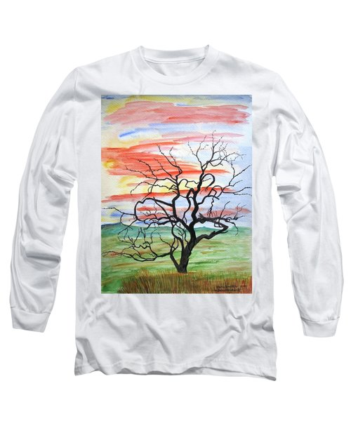 Rainbow Mesquite Long Sleeve T-Shirt