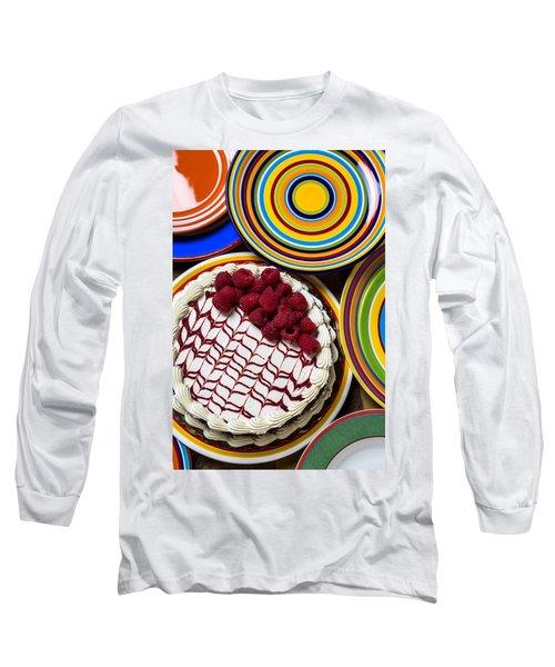 Raspberry Cake Long Sleeve T-Shirt