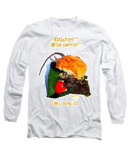 Ratburger With Cheese Long Sleeve T-Shirt