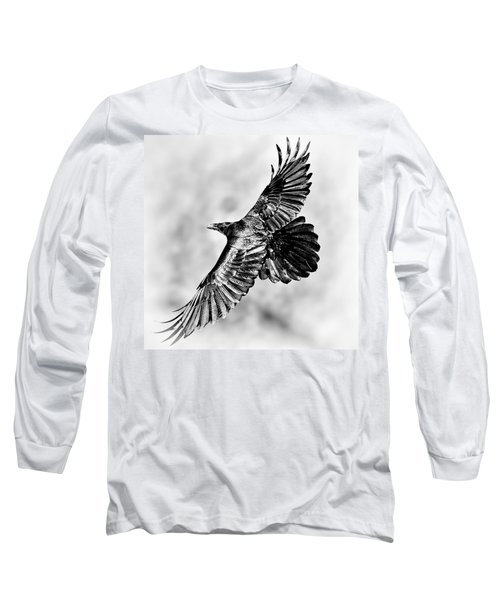Raven Of Death Valley Long Sleeve T-Shirt