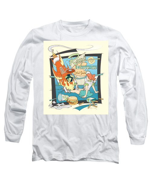 Ray's Drive-in - Redhead Long Sleeve T-Shirt