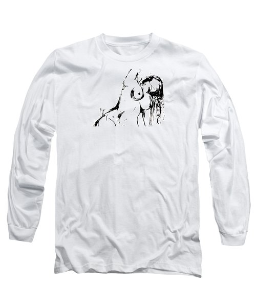 Reach Long Sleeve T-Shirt by Helen Syron