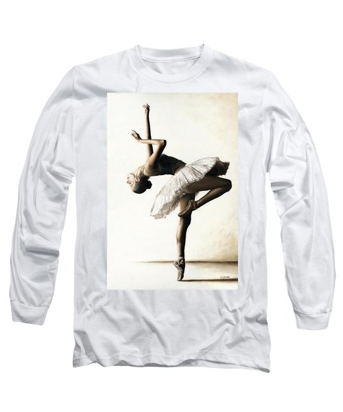 Reaching For Perfect Grace Long Sleeve T-Shirt