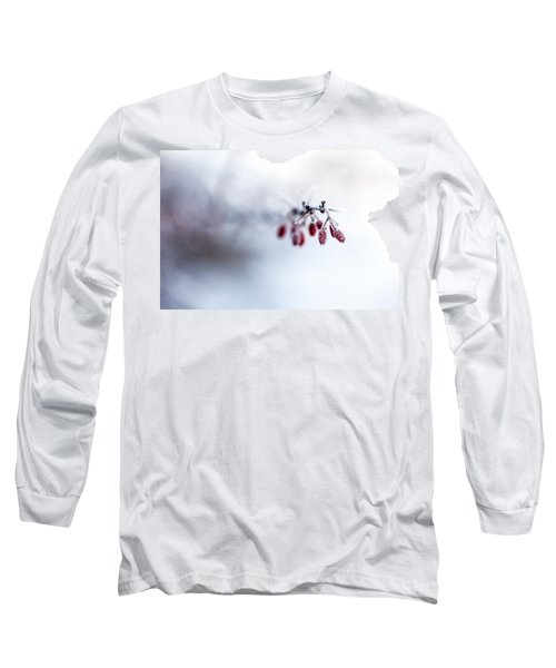 Reaching Out Long Sleeve T-Shirt by Aaron Aldrich