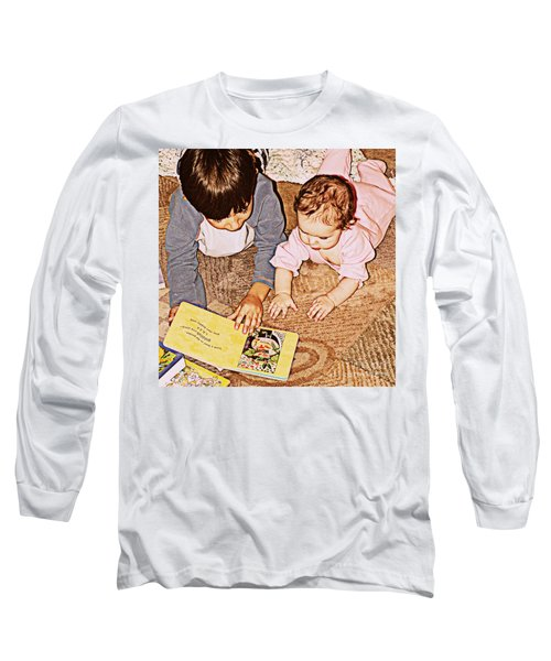 Story Time Long Sleeve T-Shirt by Valerie Reeves