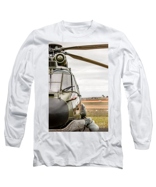 Ready For Action II Long Sleeve T-Shirt by Ray Warren