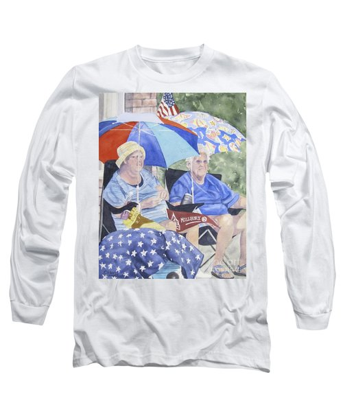 Ready For The Millbury Parade Long Sleeve T-Shirt by Carol Flagg