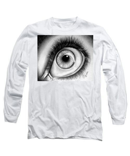 Realistic Eye Long Sleeve T-Shirt