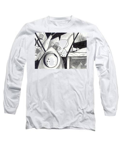Receptors And Rabbit Ears And Long Pairs Of Antennas Long Sleeve T-Shirt