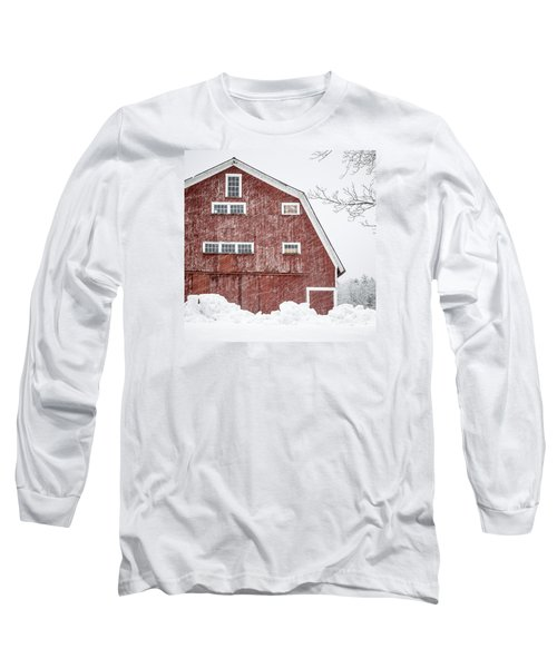 Red Barn Whiteout Long Sleeve T-Shirt