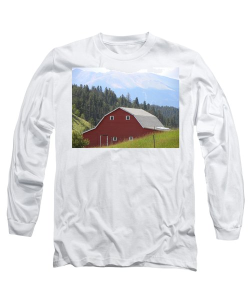 Barn - Pikes Peak Burgess Res Divide Co Long Sleeve T-Shirt