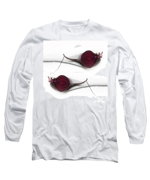 Red Beets Long Sleeve T-Shirt