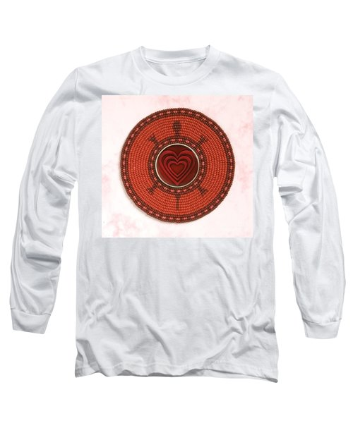 Red Heart Turtle Long Sleeve T-Shirt