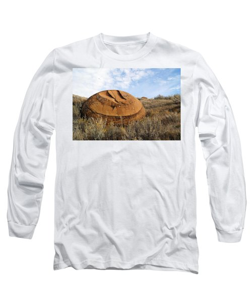 Red Rock Coulee I Long Sleeve T-Shirt by Leanna Lomanski