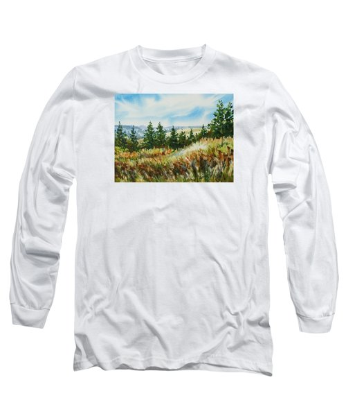 Red Rock View Road Long Sleeve T-Shirt
