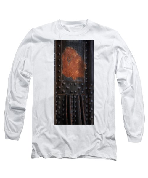 Red Rust Rivets Long Sleeve T-Shirt
