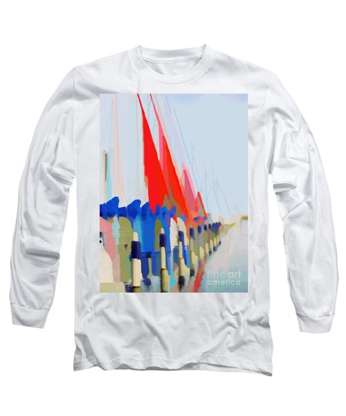 Red Sails In The Sunset Long Sleeve T-Shirt