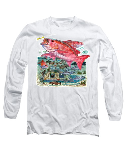 Red Snapper Long Sleeve T-Shirt