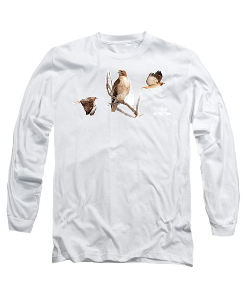 Red Tail Hawk Series Long Sleeve T-Shirt