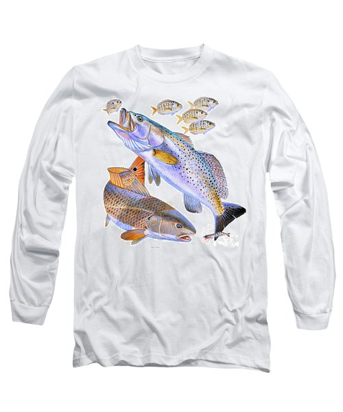 Redfish Trout Long Sleeve T-Shirt