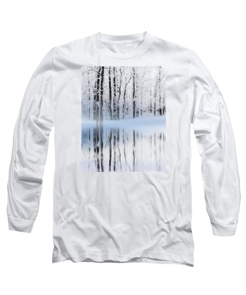 Reflection On A Dream Collingwood, On Long Sleeve T-Shirt by Andrea Kollo