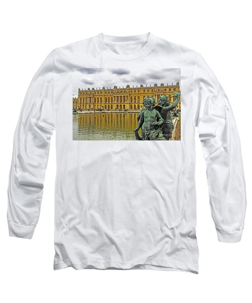 Reflection Pool Of Versailles Long Sleeve T-Shirt