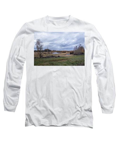 Refuge No 1 Long Sleeve T-Shirt by Belinda Greb