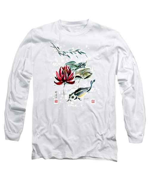 Long Sleeve T-Shirt featuring the painting Resting Place by Bill Searle
