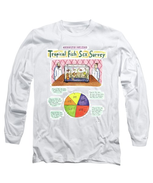Results Of The Tropical Fish Sex Survey 17% Long Sleeve T-Shirt
