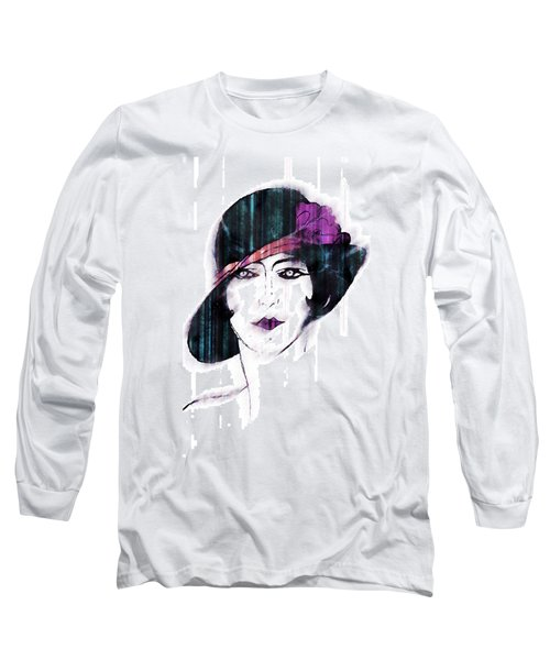 Retro 3d Long Sleeve T-Shirt