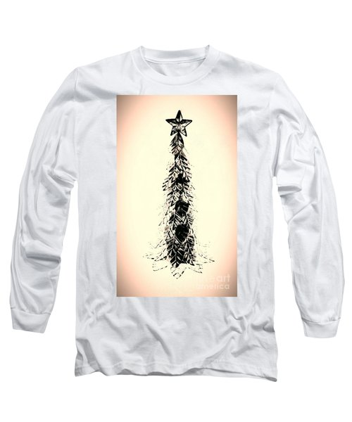Retro Xmas Long Sleeve T-Shirt