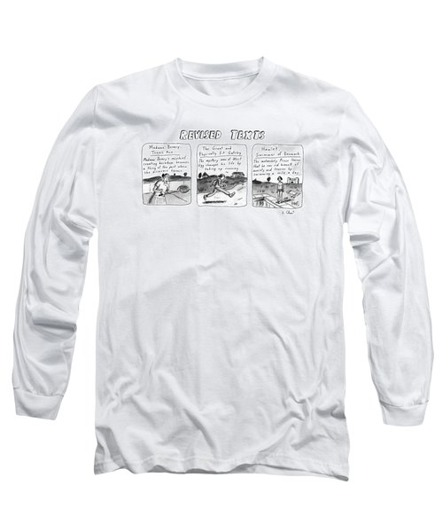 Revised Texts Long Sleeve T-Shirt