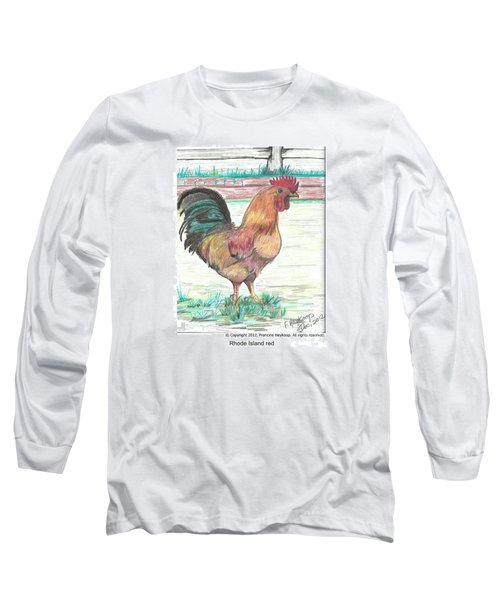 Rhode Island Red Long Sleeve T-Shirt