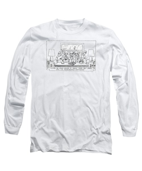 Richard And Wendy Kozier Long Sleeve T-Shirt
