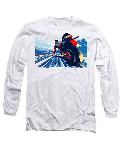 Riding On The Edge Long Sleeve T-Shirt