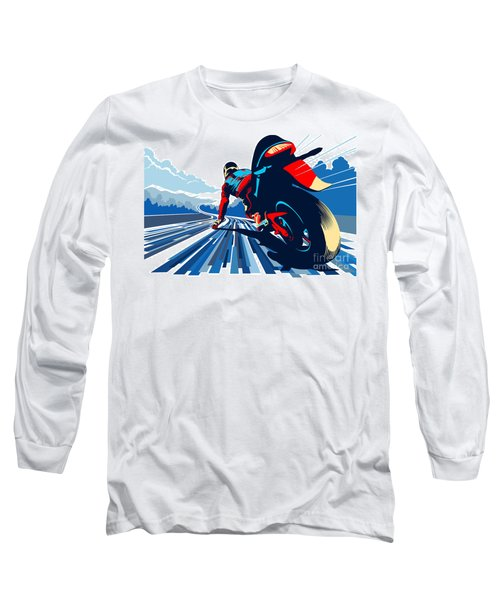 Riding On The Edge Long Sleeve T-Shirt