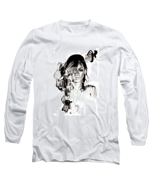 Rihanna Stay Long Sleeve T-Shirt by Molly Picklesimer