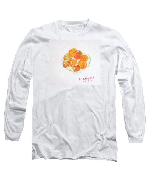 Ripening Tomatoes Long Sleeve T-Shirt