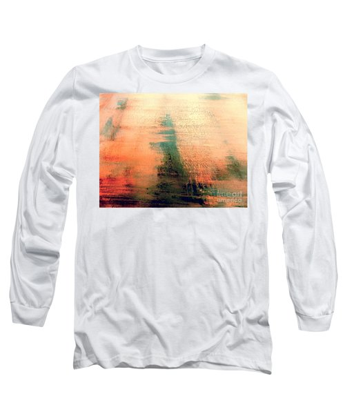 Long Sleeve T-Shirt featuring the painting Rise by Jacqueline McReynolds