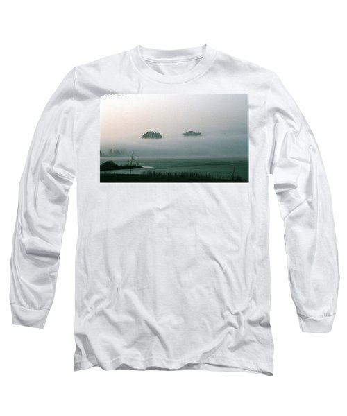 Rising From The Mist Long Sleeve T-Shirt by David Porteus