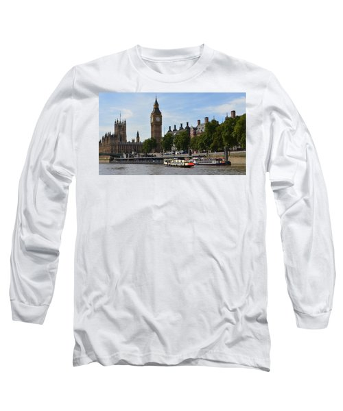 River Thames View Long Sleeve T-Shirt