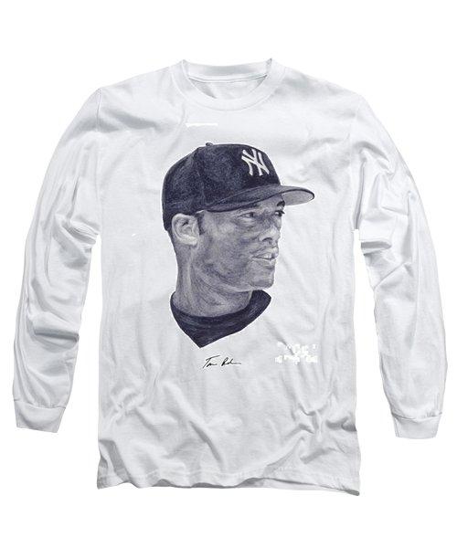Rivera Long Sleeve T-Shirt by Tamir Barkan