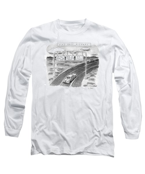 'road Rage Highway' Long Sleeve T-Shirt