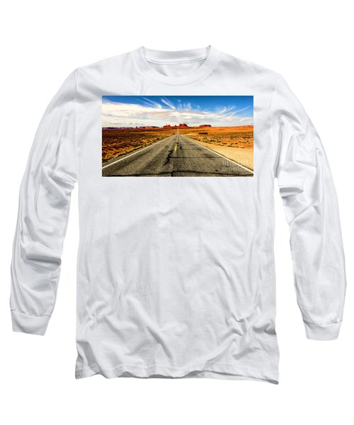 Road To Navajo Long Sleeve T-Shirt