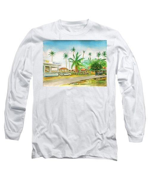 Roadside Food Stands Puerto Rico Long Sleeve T-Shirt