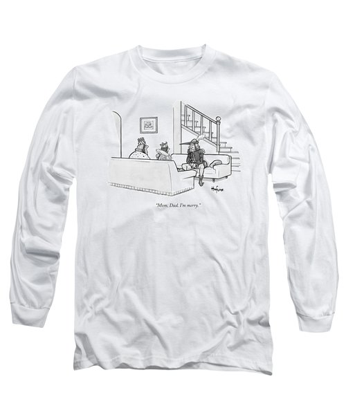 Robin Hood Sits Down With His King And Queen Long Sleeve T-Shirt