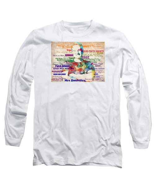 Robin Williams Tribute Long Sleeve T-Shirt