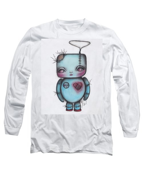 Robot Long Sleeve T-Shirt by Abril Andrade Griffith