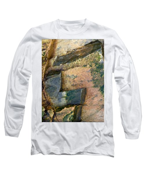 Long Sleeve T-Shirt featuring the photograph Rock On by Liz  Alderdice