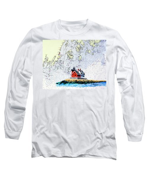Rockland Breakwater Light Long Sleeve T-Shirt by Mike Robles